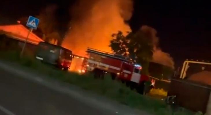 В МЧС рассказали подробности пожара в пензенском районе Нахаловка