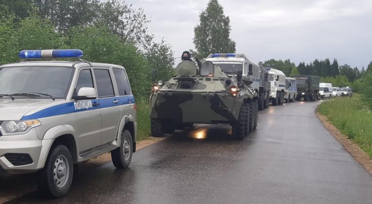 На дорогах Пензенской области будут передвигаться воинские колонны