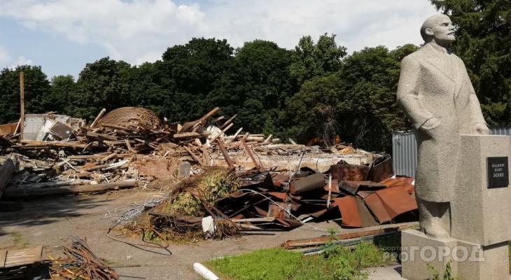 Минкультуры выявило нарушения при сносе деревянного планетария в Пензе