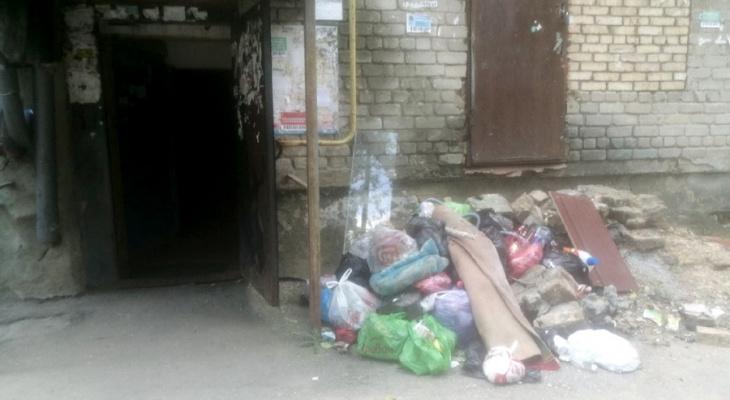 «Вам нравится жить в свинарнике?»: Пензенцы устроили свалку прямо под окнами своего дома