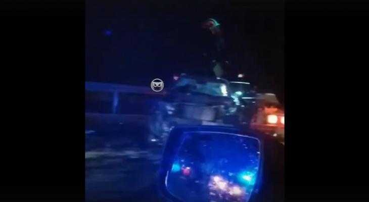 Ночью на трассе в Пензенской области произошло серьезное ДТП
