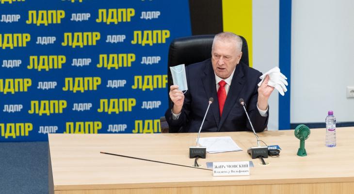 «Все, тюрьма!»: Жириновский заявил об ужесточении мер для антипрививочников