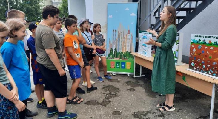Партия «Новые люди» научила пензенских школьников бережно относиться к природе