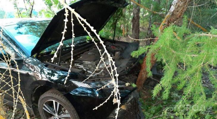 После аварии в Саратовской области была госпитализирована жительница Кузнецка