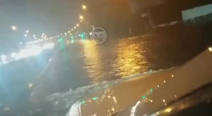 Последствия мощной бури пензенцы сняли на видео