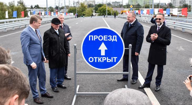 В центре Пензы после реконструкции открыли Бакунинский мост