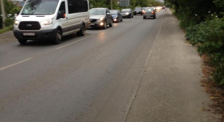 В Пензе после открытия Бакунинского моста образовались пробки