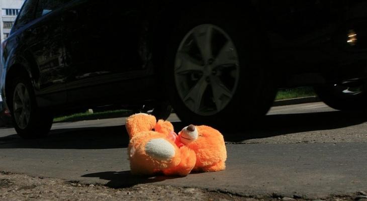 В Пензе на улице Злобина водитель иномарки наехал на ребенка