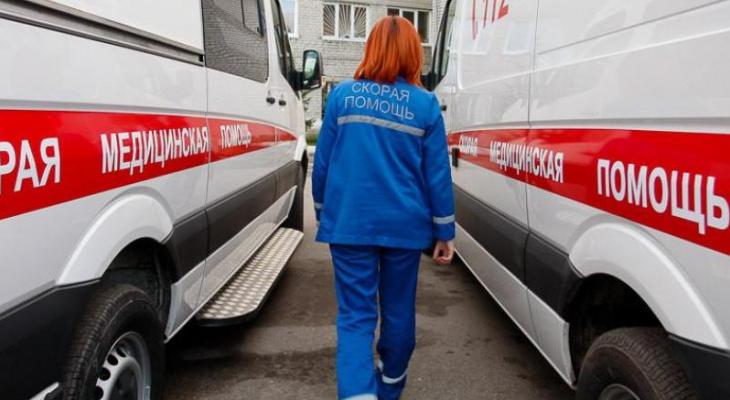 В Кузнецком районе в аварии пострадала женщина