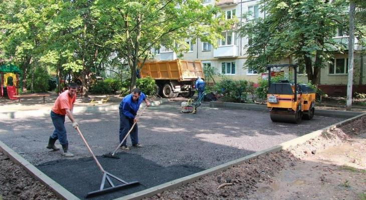 Кувайцев рассказал о начале работ по благоустройству дворов в Пензенской области