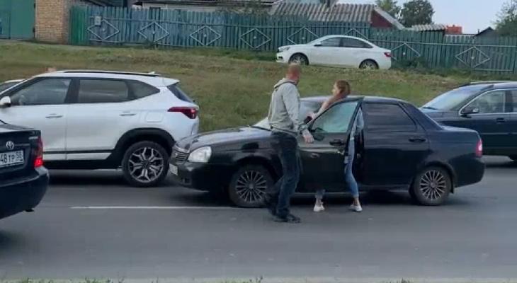Соцсети: в Пензе нетрезвый водитель пытался покинуть место ДТП