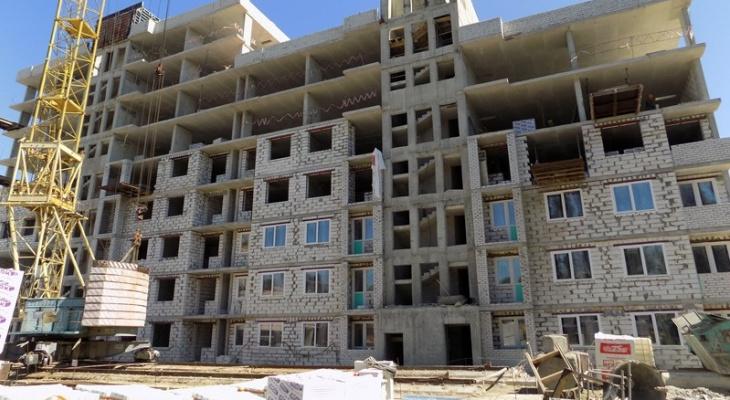 В Пензе приостановили строительство домов для переселенцев из аварийного жилья