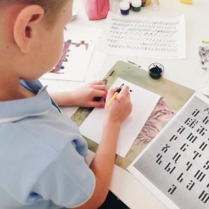 Юные пензенцы освоили азы каллиграфии