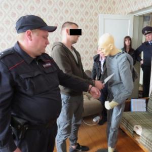 В Пензенской области задержанный показал как расправился с 24-летней возлюбленной