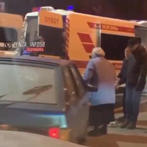 В центре Пензы сбили пешехода