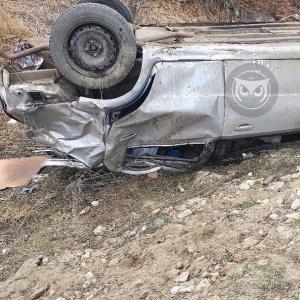 Трое пострадали: на трассе в Пензенской области перевернулся автомобиль
