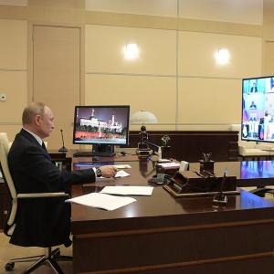 «Это пройдёт»: Путин сравнил коронавирус с печенегами