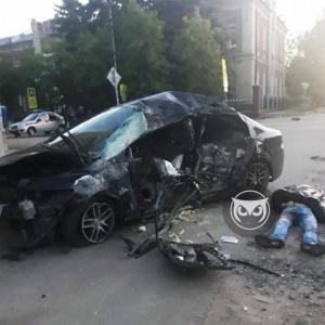 Появилось фото с места ДТП в Сердобске, где погибли два человека