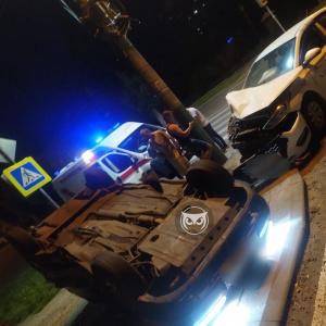 Ночной кошмар: в Пензе два автомобиля раскурочило в жутком ДТП - фото