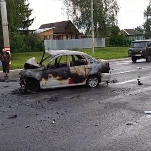 В полиции подтвердили смерть трех пензенцев, сгоревших заживо в ДТП в Саранске