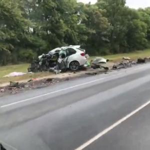 От машины не осталось ничего: жуткая авария с КамАЗом произошла в Спасском районе