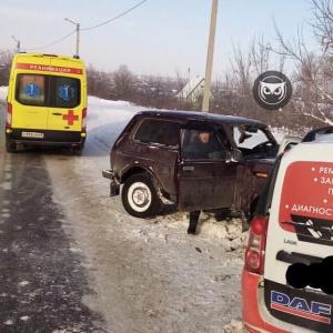 К месту аварии на улице Строителей прибыла реанимация