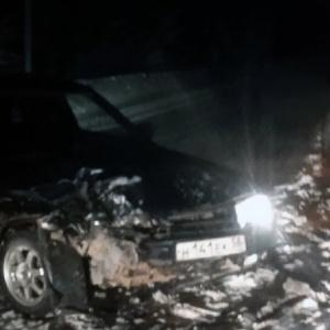 В ночном ДТП в Пензе раскурочило две машины