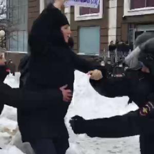 В Пензе задержали участников акции «Свободу Навальному»