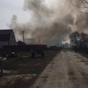 В Пензенской области сгорело три дома из-за сжигания травы