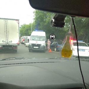 В Пензе на улице Урицкого произошла массовая авария с пострадавшими