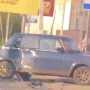 В Пензенской области мотоциклист протаранил ВАЗ