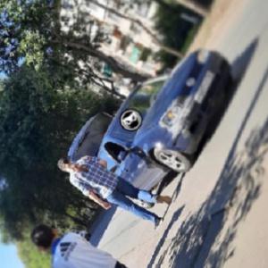 В пензенском Арбекове 2 машины угодили в жесткую аварию