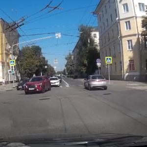Дерзкий «автохам» из Пензы попал на видео