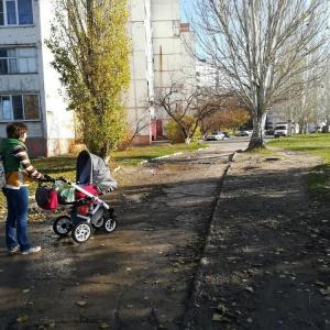 Жительница Пензенской области не может выйти с ребенком на улицу